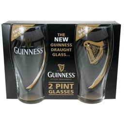 Lot de 2 verres Guinness