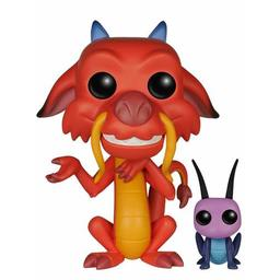 Funko Pop Mulan - Mushu & Cricket