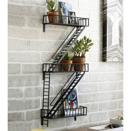 Etagère fire escape