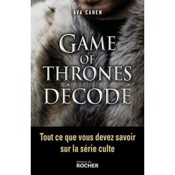 Livre Game of Thrones décodé